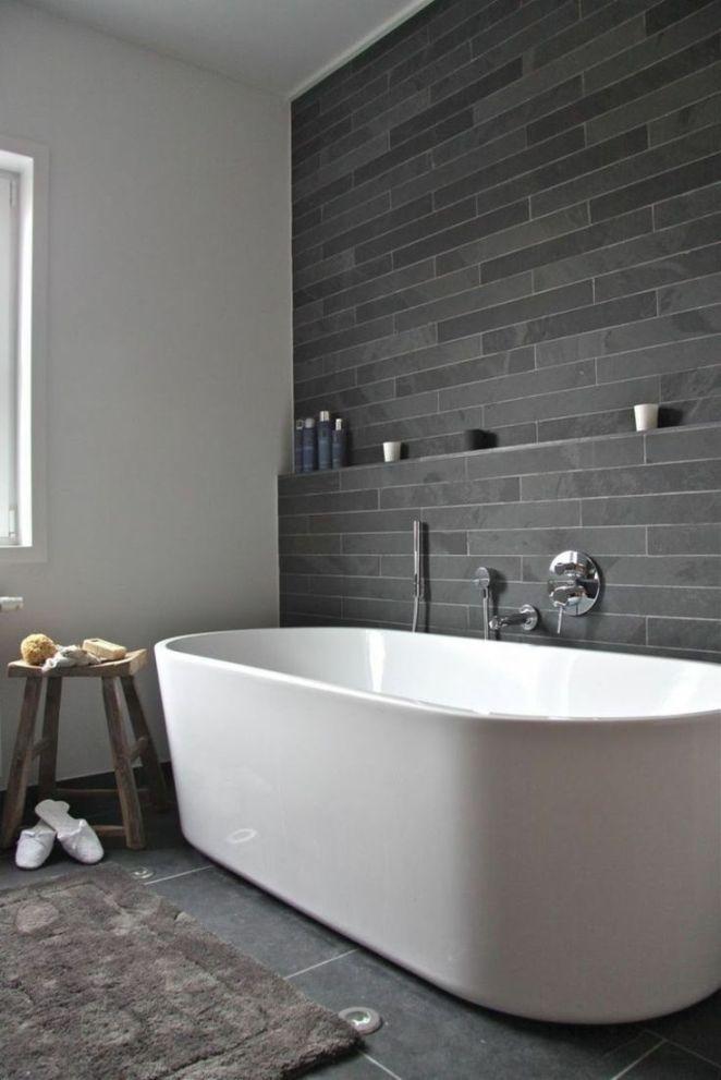 idée décoration salle de bain - salle de bain ardoise : déco ... - Salle De Bain Ardoise
