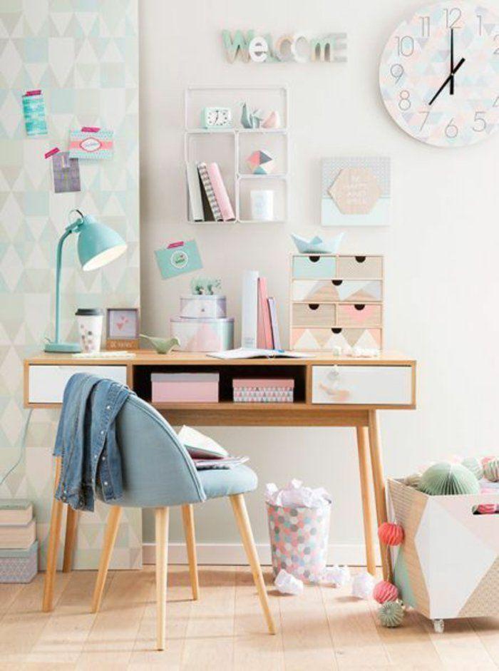 Relooking et décoration 2017 / 2018 - espace bureau vintage ...