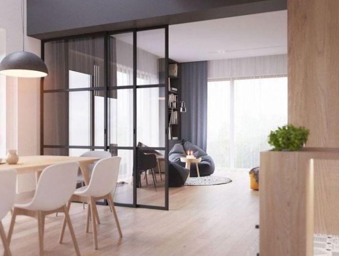 Deco salon verriere cuisine salle a manger aux murs for Deco cuisine avec table a manger bois et blanc
