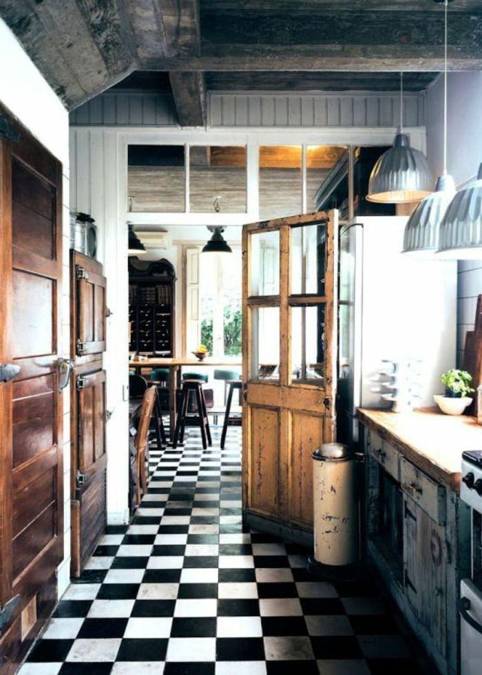 elegant description commment bien choisir le carrelage damier noir et blanc with carrelage. Black Bedroom Furniture Sets. Home Design Ideas
