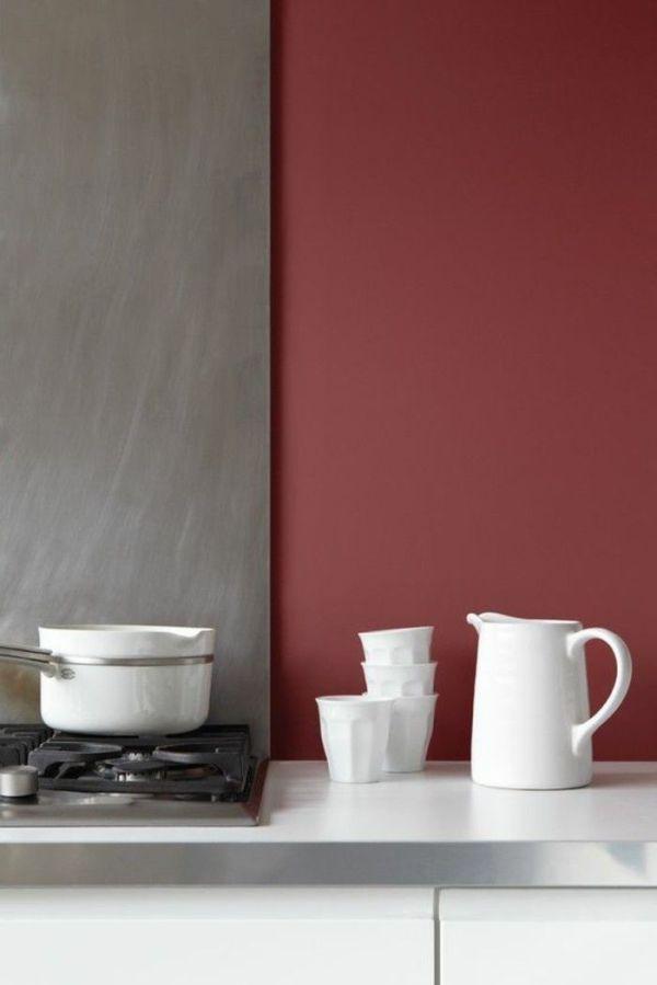 Déco Salon - Association de couleur avec gris et rouge ...