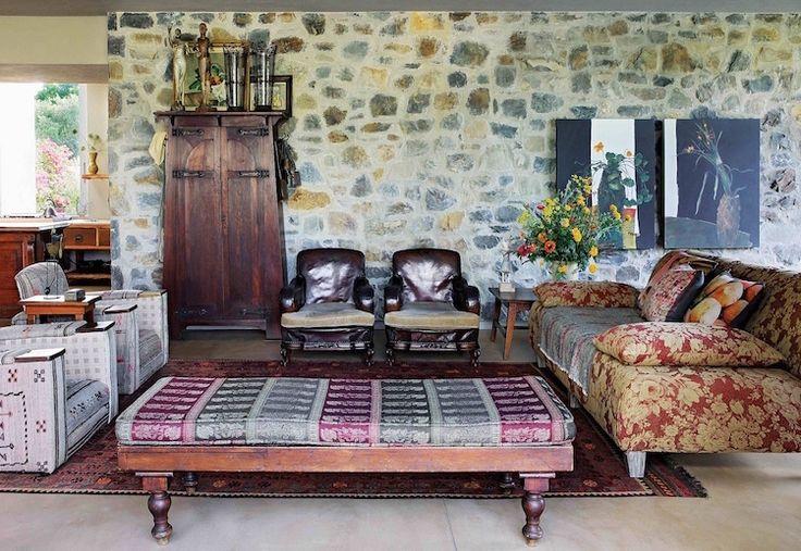 decoration africaine meubles artisanaux salon