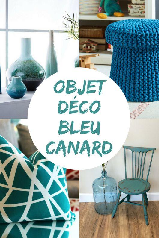 Objet Deco Bleu Canard - Thelab.top