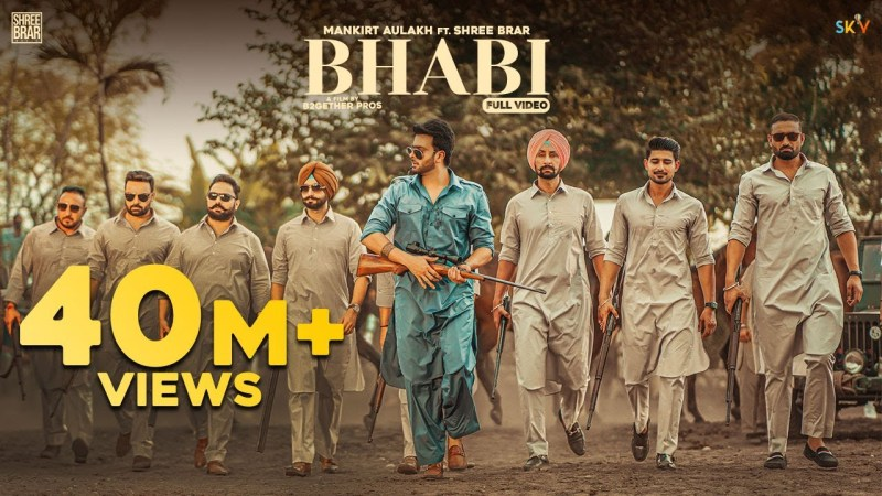 Desi Crew new song Bhabi (Official Video) Mankirt Aulakh Ft Mahira Sharma | Shree Brar | Avvy Sra | Latest Punjabi Song