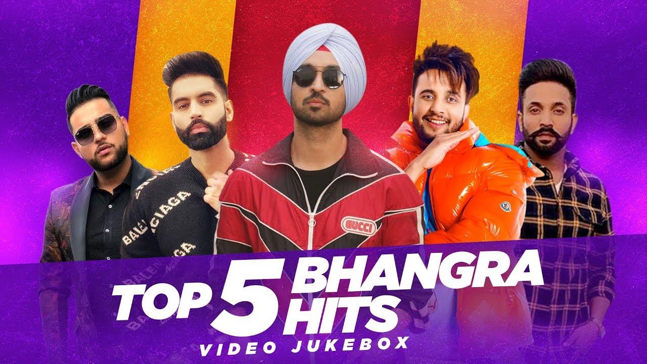 punjabi song Top 5 Bhangra Hits | Video Jukebox | Latest Punjabi Song 2020 | Speed Records