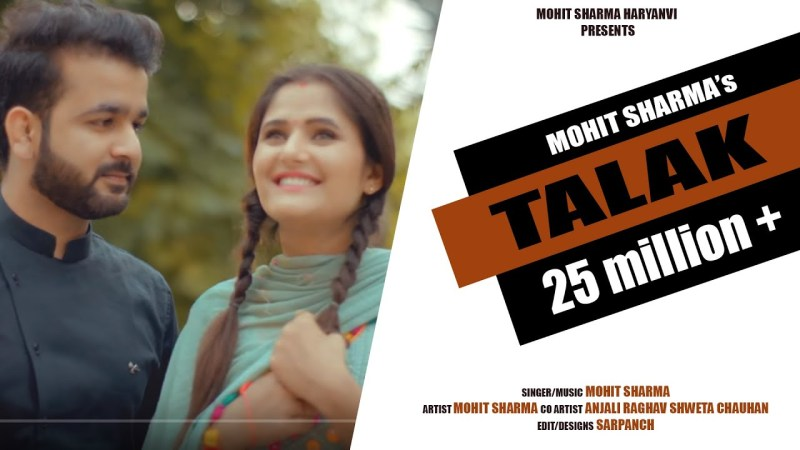 haryanvi song-Talak –  4K Full Video ! Mohit Sharma ! Anjali Raghav ! Sweta Chauhan ! New Haryanvi Song 2020