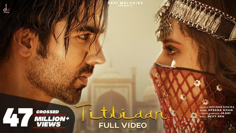 gulzar song-Titliaan | Harrdy Sandhu | Sargun Mehta | Afsana Khan | Jaani | Avvy Sra | Arvindr Khaira-gulzar chhaniwala song