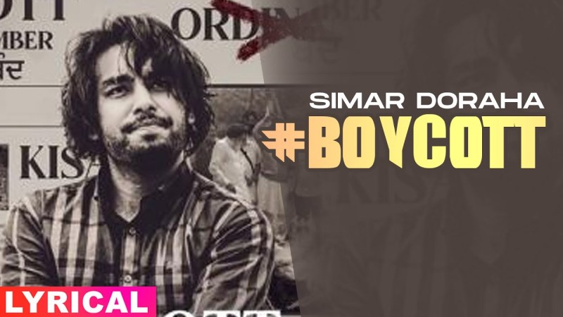 punjabi song Boycott (Lyrical) | Simar Doraha | Black Virus | Latest Punjabi Songs 2020 | Speed Records