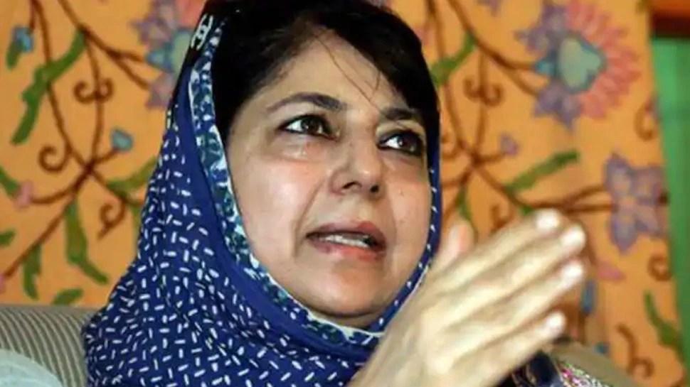 भारत-पाकिस्तान राजनीतिक मजबूरियों से ऊपर उठ वार्ता की पहल करें: महबूबा