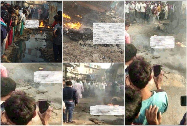 Delhi Loni Fire News: Loni Fire Incident Young Man Kept Shouting Help People Kept Making Videos See Photos – तस्वीरें: आग की लपटों में घिरे नाना की मदद को चिल्लाता रहा नाती…लोग वीडियो बनाते रहे, धीरे-धीरे खामोश हो गईं चीखें