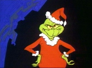 Grinch Santa