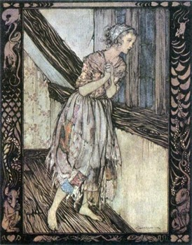 Arthur Rackham Cinderella