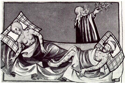 6 Devastating Plagues - History Lists |History Black Death