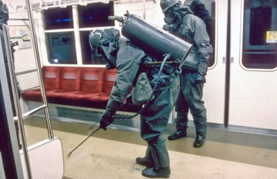 Sarin Gas Attack Cleanup
