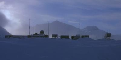 The Thing Antarctic Base