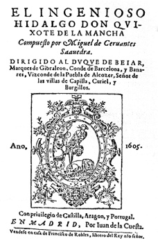 Cervantes Don Quixote 1605