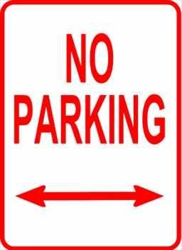 Sign-No-Parking