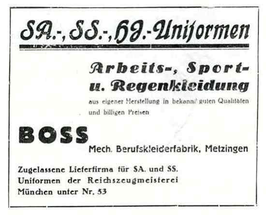 Boss 1933 Adv