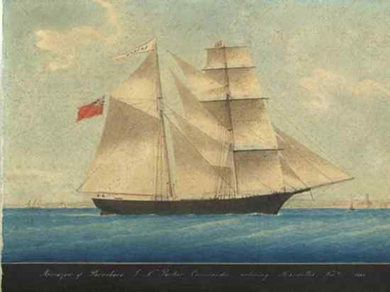 Mary Celeste As Amazon In 1861-1