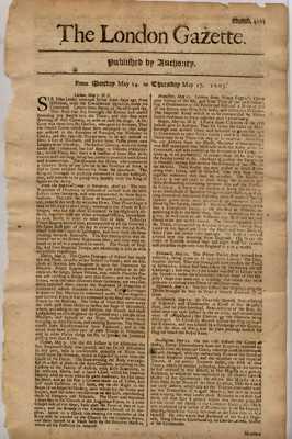 London Gazette(1705)