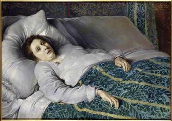 Young Woman Death Bed Hi-1