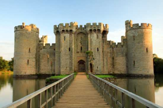 Bodiam-Castle-In-English-Tour
