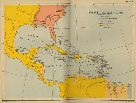 West Indies 1763