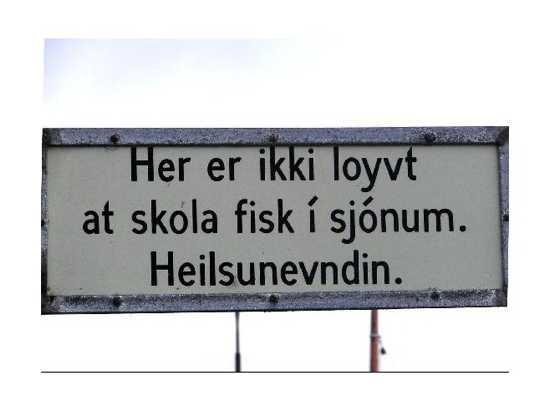 2192259-Sign Written In Faroese Faroe Islands