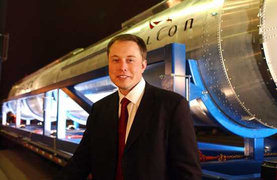 Elon Musk Falcon