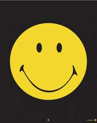 Lgmpp50135+Yellow-Smiley-Face-Smiley-Mini-Poster