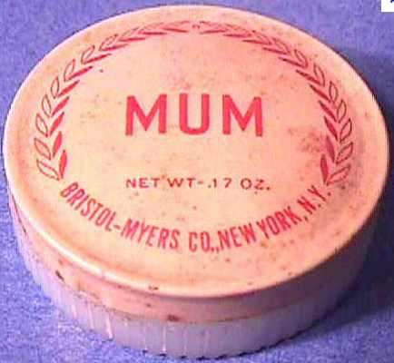 Image result for mum deodorant 1880s