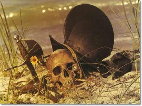 Pirates-Unknown-Death-Of-A-Soldier-On-The-Beach