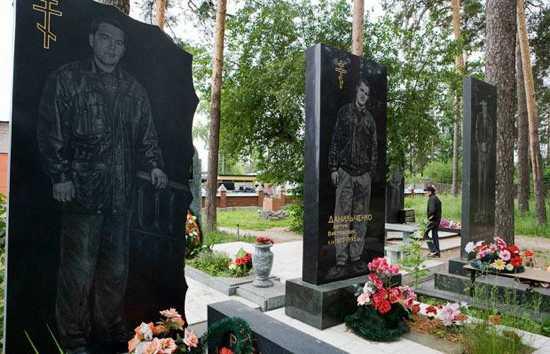 Russia-Cemetery 1519117I-1