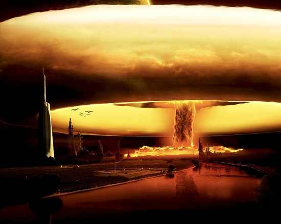 The Nuclear Explosion   Bomb 011528