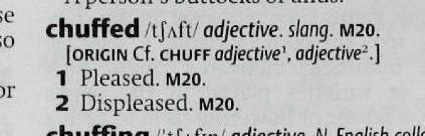 Shorter-Oed-Chuffed