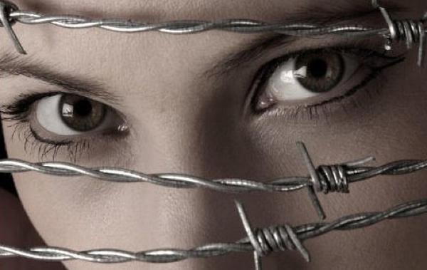 Eyes Behind Barbed Wire