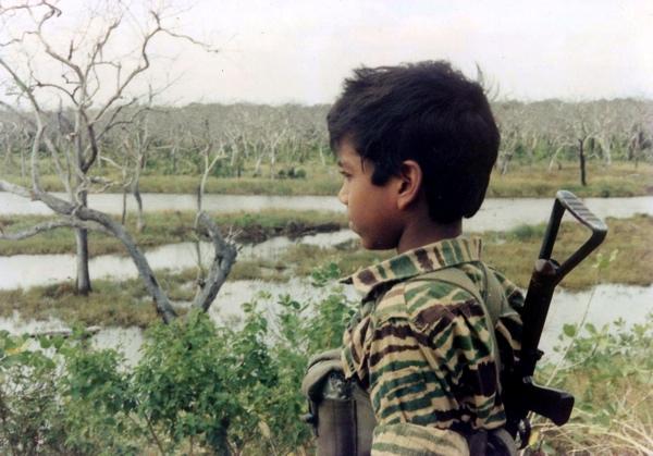 Child Soldier in Sri Lanka