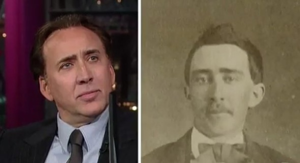 Heres-Nic-Cage-And-His-Doppelganger-Little-Is-Known-About-The-Man-Besides-That-He-Supposedly-Served-In-The-Civil-War