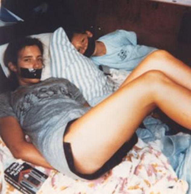 Teen Tied On Bed Having Sex 104