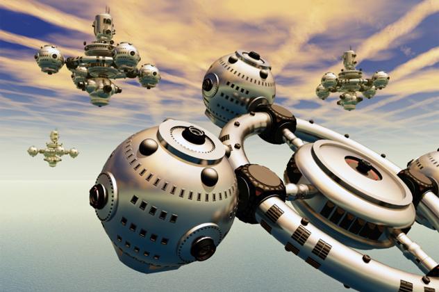 1- spaceship