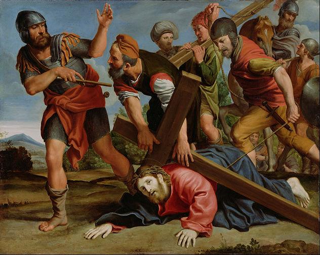 4_Domenichino_(Domenico_Zampieri)_(Italian_-_The_Way_to_Calvary_-_Google_Art_Project