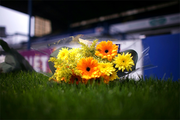 Tributes Are Laid At The Hillsborough Stadium Ahead Of The 20th Anniversary