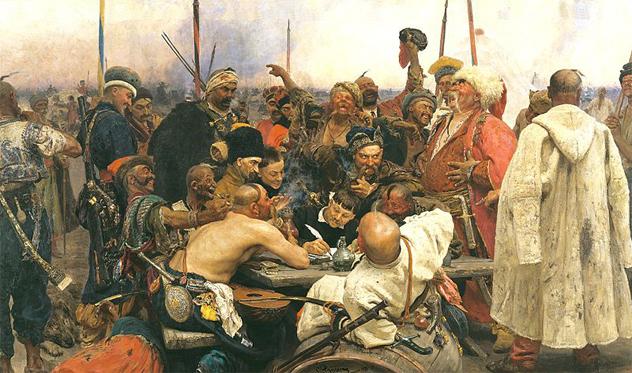 4- cossacks