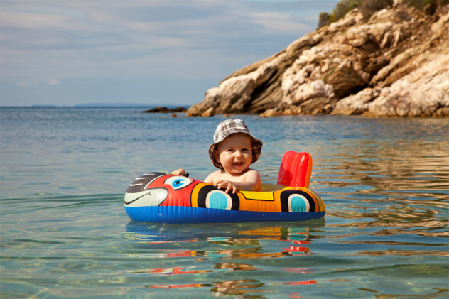 8- baby boat