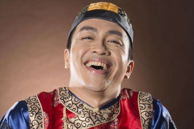 Laughing Chinese Man