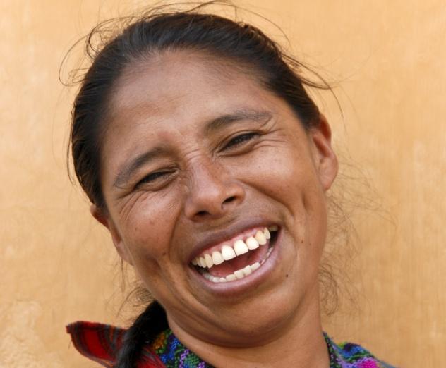 Laughing Maya