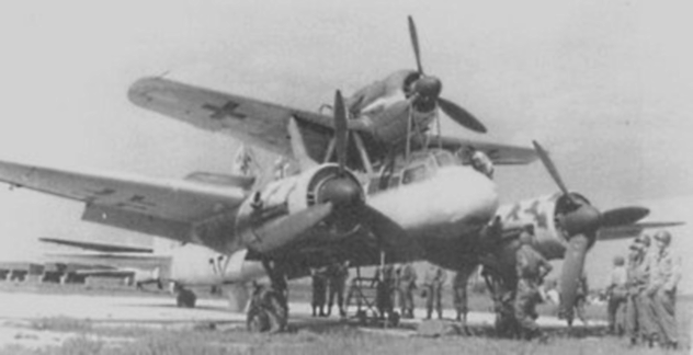 Mistel Flying Bomb