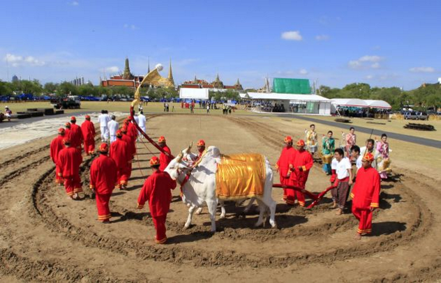 Royal Ploughing Ceremony