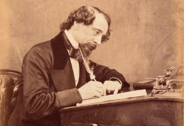 Dickens Writing