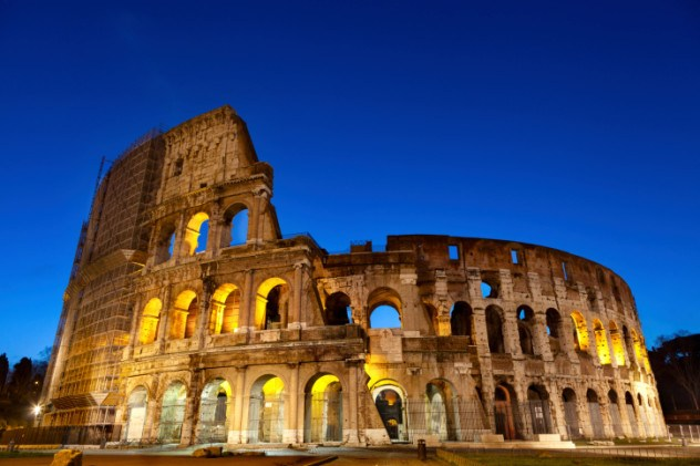 Majestic Coliseum early in the morning